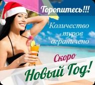 Туры на Новый Год. Новогодние канкулы.