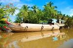 Вьетнам. Kaнтхо. Лодка