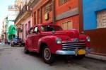 Куба. Гавана. Винтажный автомобиль